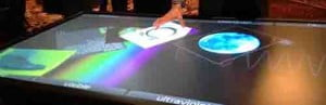 3m ces 84-inch touch table
